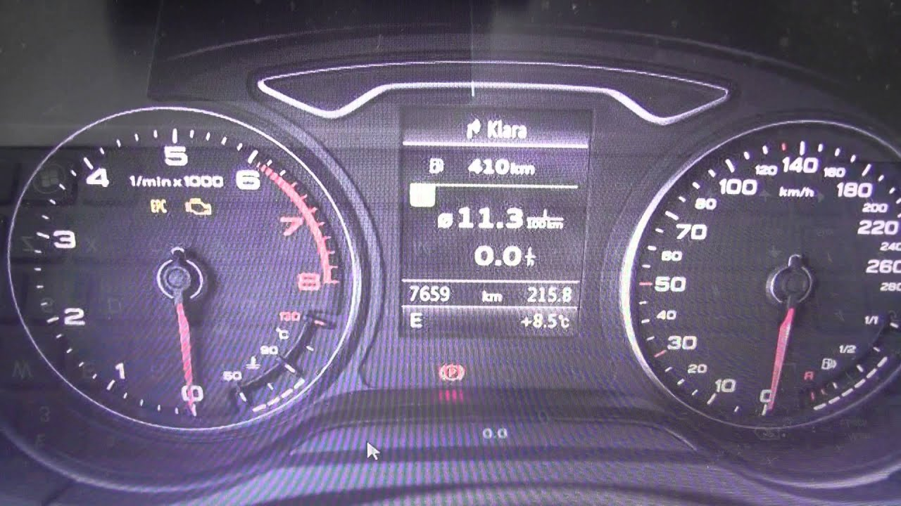 Audi Q3 Dashboard Warning Lights Symbol Lamps Guide What They Mean