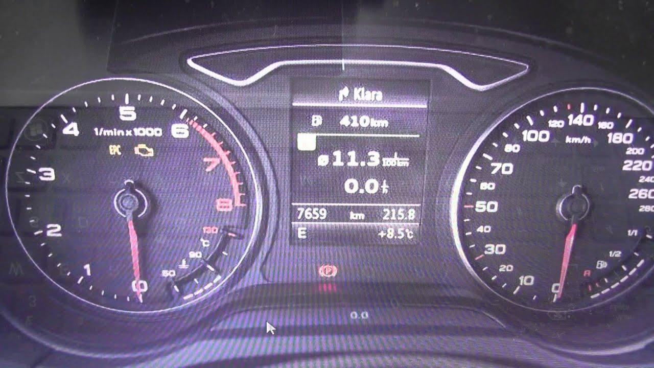 Audi Dash Lights