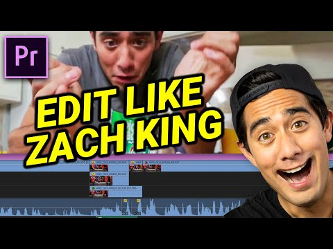 The SECRETS To Zach King's Editing Magic (Premiere Pro)