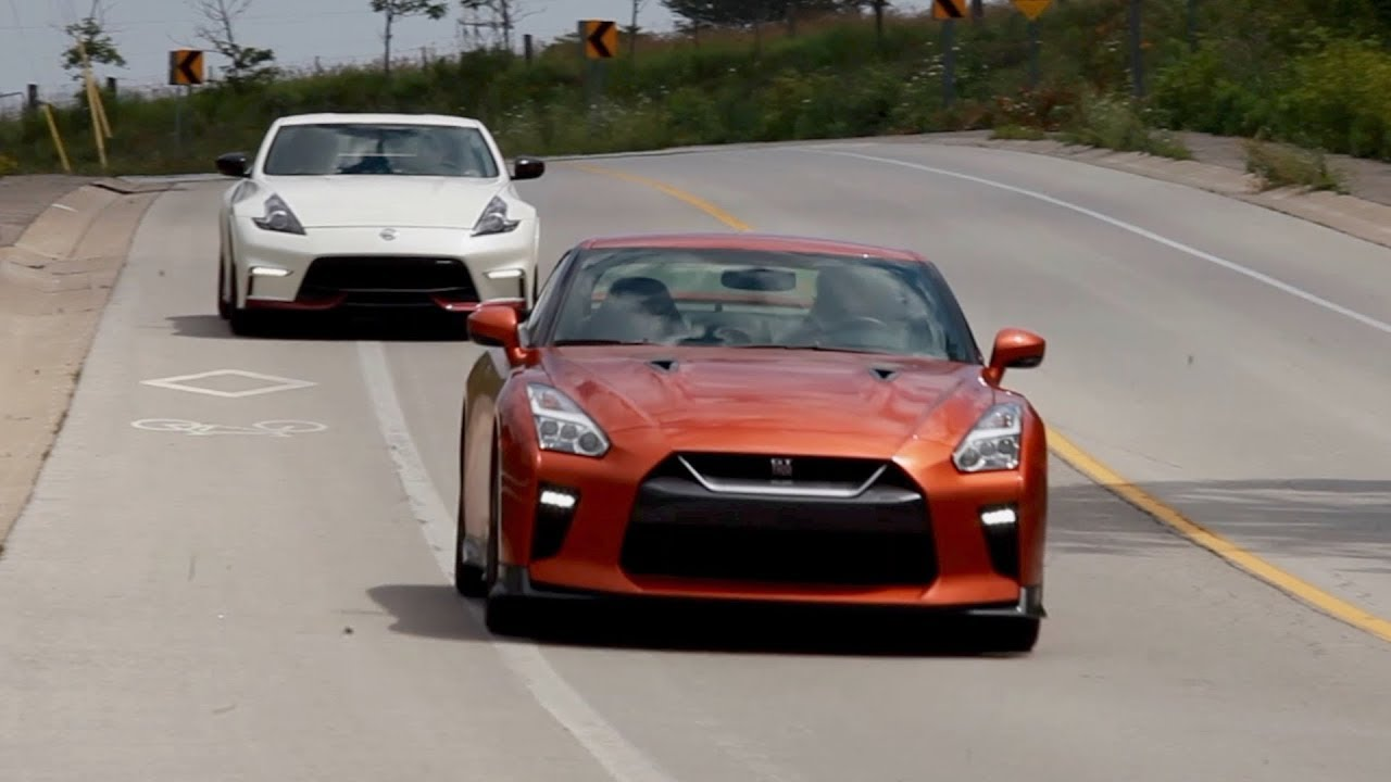Aging gracefully: A blast in Nissan\'s GT-R and 370Z sports cars ...