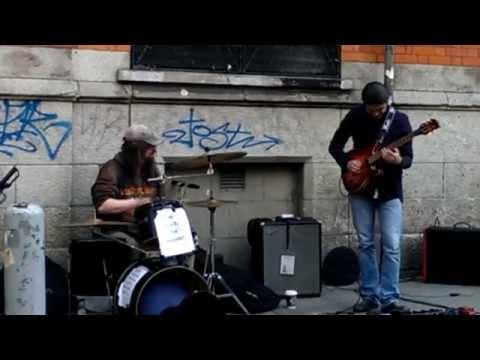 Straßenmusiker Dublin