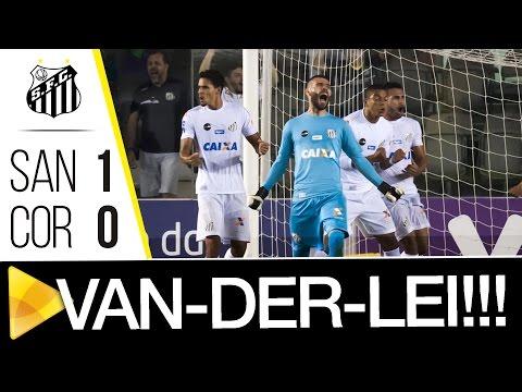 PEEEGA VANDERLEI! Goleiro defende pênalti e garante a vitória do Santos FC