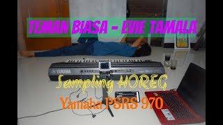 TEMAN BIASA - Evie Tamala Versi Karaoke Yamaha PSR S970 by : Dangdut Time