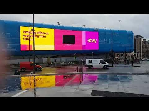 Digital screens in Liverpool
