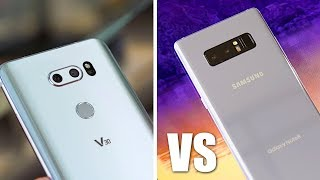 Galaxy Note 8 vs LG V30 Full Camera Comparison!