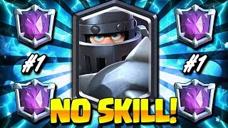 7000+ EASIEST MEGA KNIGHT LADDER DECK!! ULTIMATE CHAMPION PUSH!!