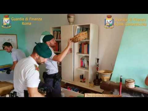 Il Quotidiano del Lazio - Roma, Guardia di Finanza scopre piantagione di cannabis