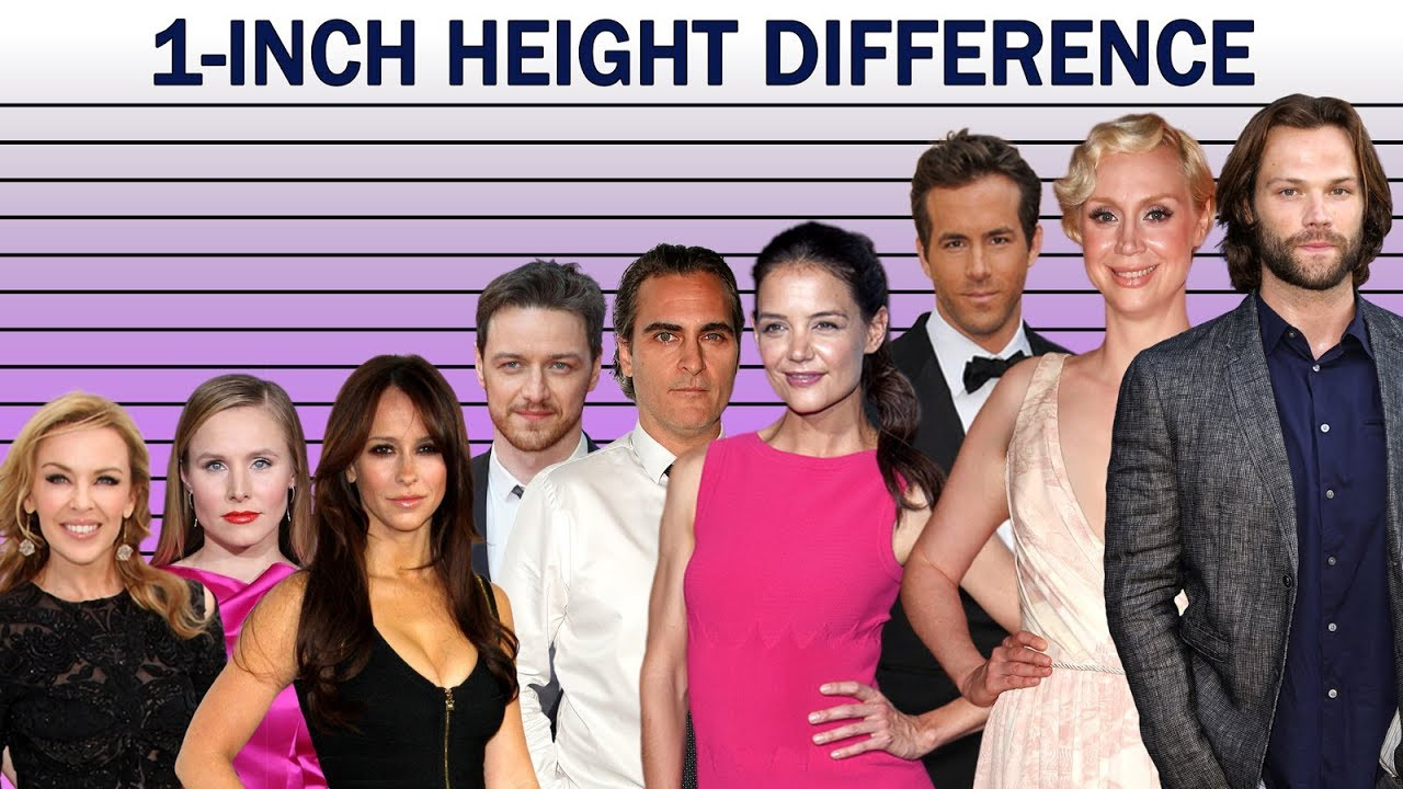 What Does A 1 Inch Height Difference Look Like 4ft 10 To 6ft 9 Youtube