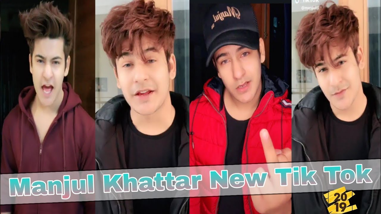 #manjulkhattar | Manjul Khattar New Tik Tok Video 2019 | Musically India Compilation.