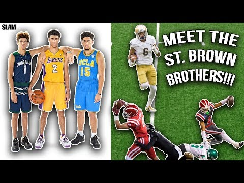 The Ball Brothers Of Football!!! Meet The St. Brown Brothers [Highlights Reaction]