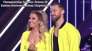 Championship Seasons: Season 29 Kaitlyn Bristowe & Artem Chigvintsev