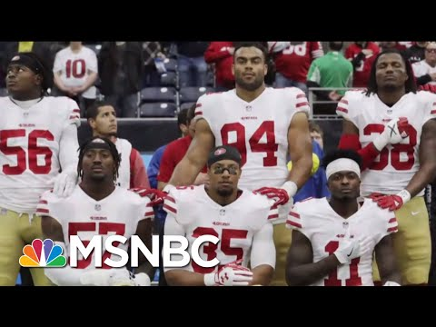 Fmr NFL Player Marvin Washington: New Anthem Policy 'Makes The Situation Worse' | Deadline | MSNBC