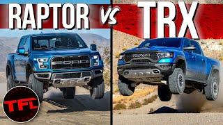 2021 Ram TRX Challenges The F-150 Raptor For Desert Running Dominance — Should Ford Be Worried?