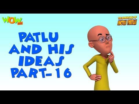 Patlu & His Ideas - Motu Patlu Compilation- Part 16 - As seen on Nickelodeon