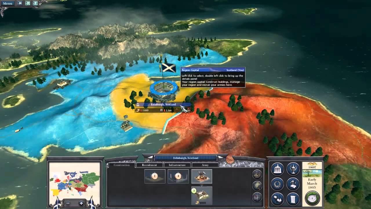 Napoleon total war: Darthmod scotland campaign