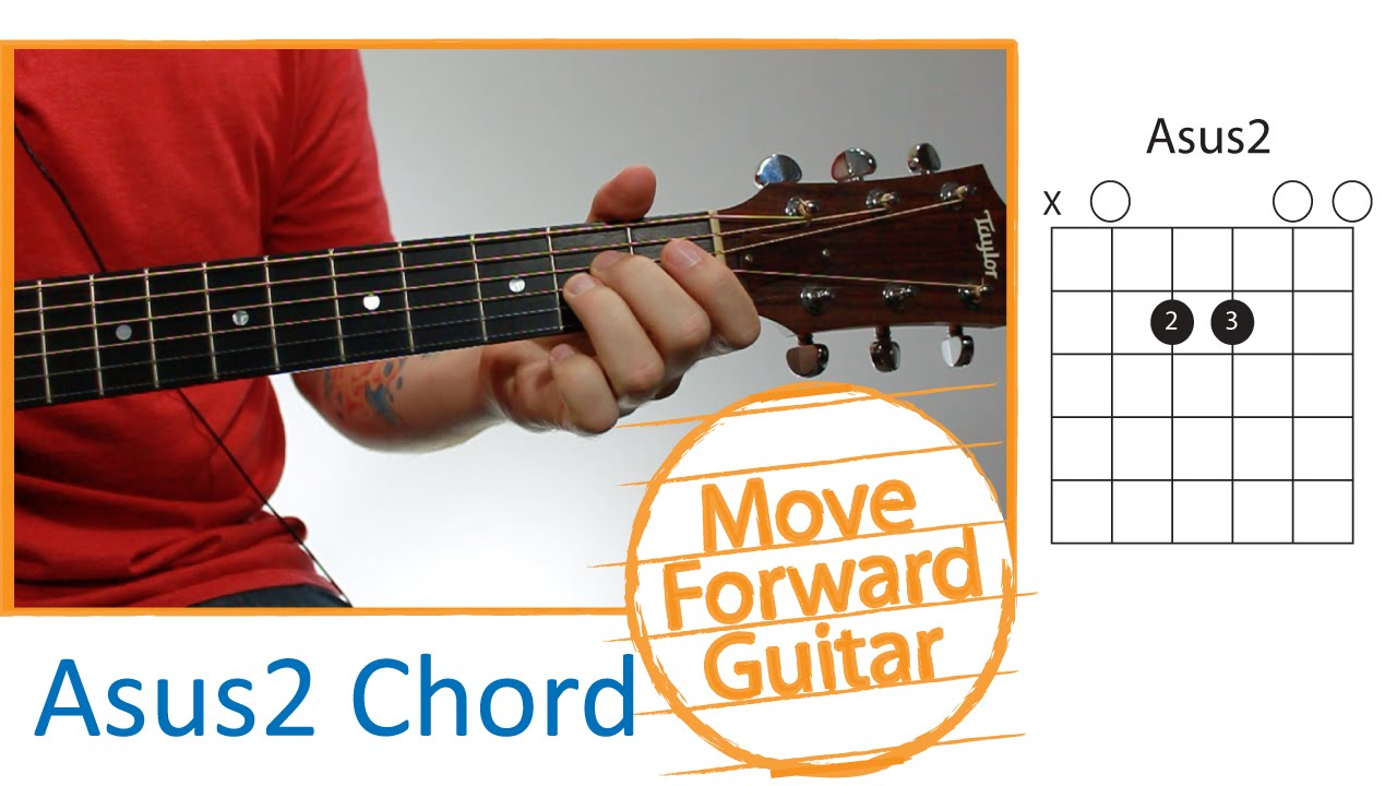 Guitar Chords For Beginners Asus2 Youtube