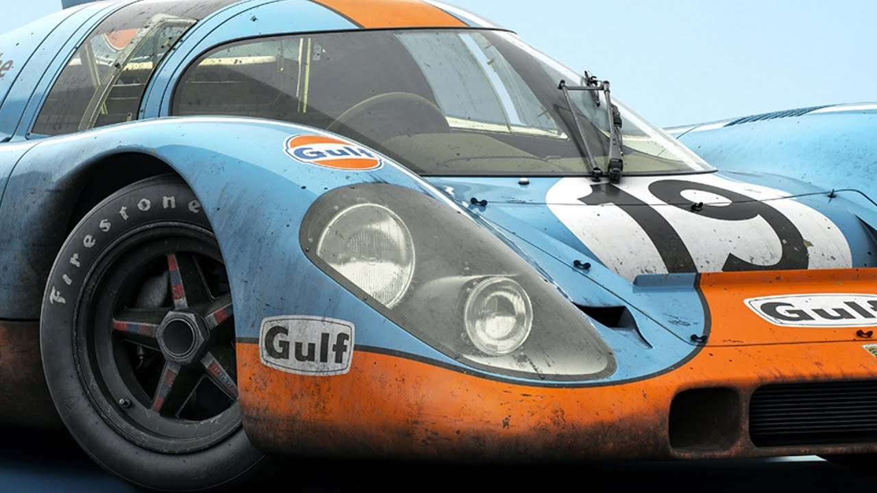 Blue Porsche 917 019 Le Mans 1971 Colors Of Speed
