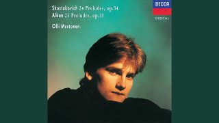 Shostakovich: Twenty-Four Preludes, Op.34 - No.14 in E flat minor - Adagio
