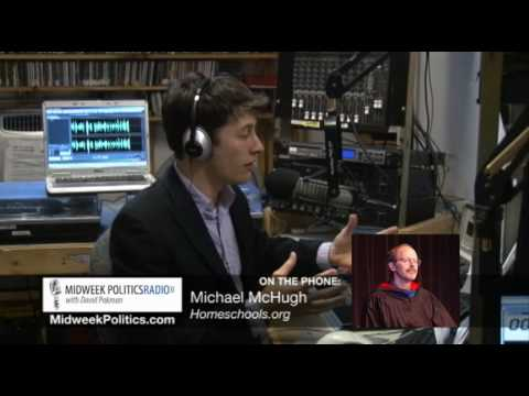 Midweek Politics with David Pakman - Interview With Christian Homeschooler Mike McHugh Part 1 of 2