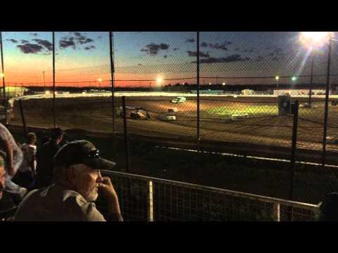 03/28/15 Mod heat race Abilene Speedway