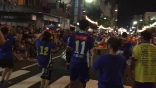 2017 モンテディオ山形 サポーター花笠パレード 2.