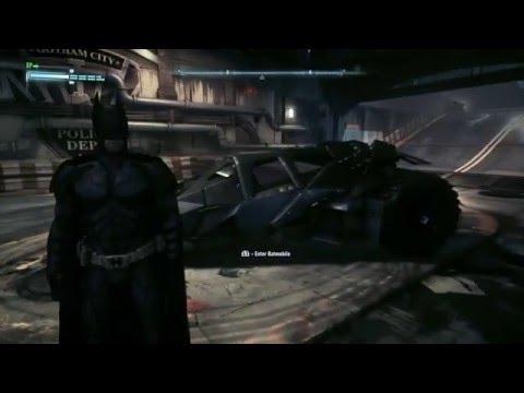 Batman Arkham Knight DLC - 2008 Dark Knight Movie Skin (Showcase & Gameplay)