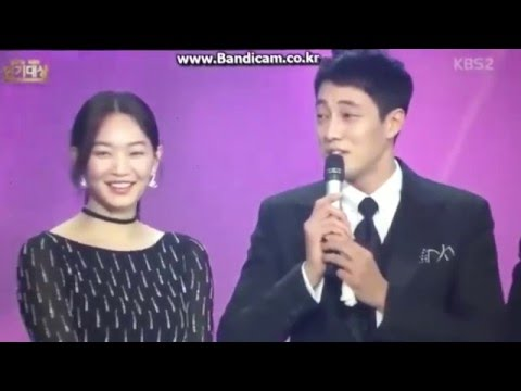 [ENG SUB] So Jisub and Shin Minah KBS Best Couple Award Interview | 151231