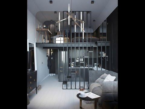 Дизайн квартиры студии 25 фото интерьеры квартир студий