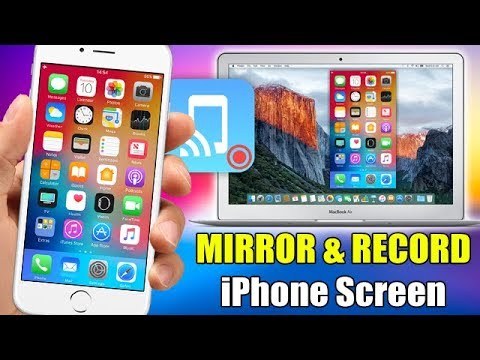 iphone screen mirroring record amp mirror the screen of your iphone ios 11 ios 12282