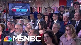 Chris Asks 'The Deciders' The State Of The Economy | Hardball | MSNBC