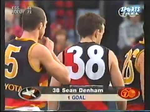1997 Essendon v Adelaide - Round 22 Optus Oval
