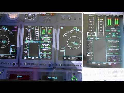module Eicas Externe pour flightgear.