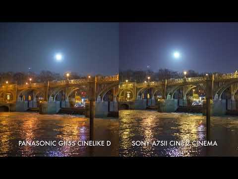 Low light comparison: