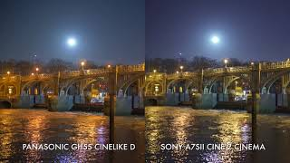 Low light comparison: GH5s vs A7SII vs A7RIII