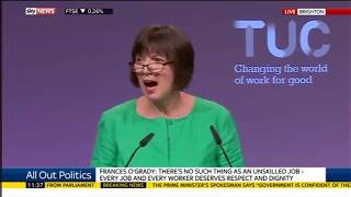 Brexit fallout: TUC chief - UK must stay in the single market to protect workers