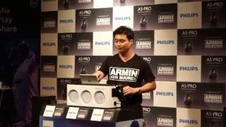 philips m1x dj with a5 pro