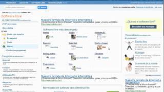 Cómo descargar software libre - PortalProgramas