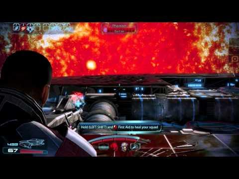 Mass Effect 3   Killing Kai Leng [Renegade and Paragon Actions]