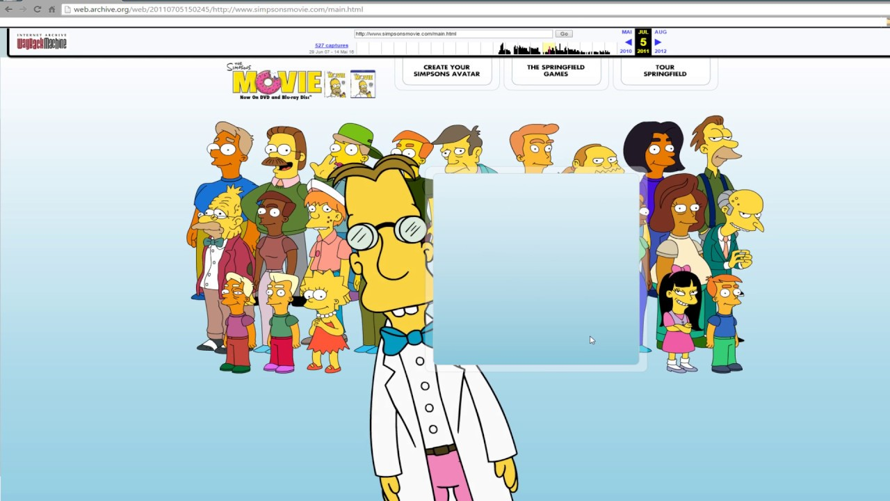 Simpsons Character Create Your Own Cartoon Online Youtube