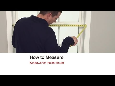How To Measure For Blinds And Shades: Inside Mount | Bali Blinds