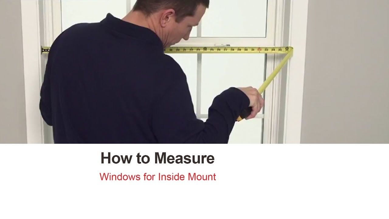 How to measure blinds Overlap How To Measure For Blinds And Shades Inside Mount Bali Blinds Youtube How To Measure For Blinds And Shades Inside Mount Bali Blinds