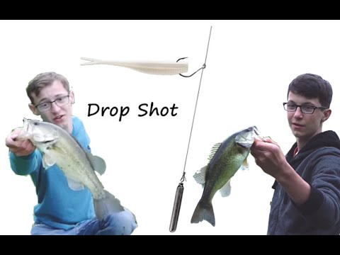 How to use a drop shot rig for bass youtube for Drop shot bass fishing