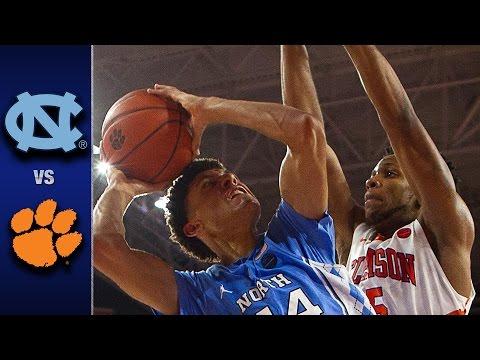 North Carolina vs. Clemson Men's Basketball Highlights (2016-17)