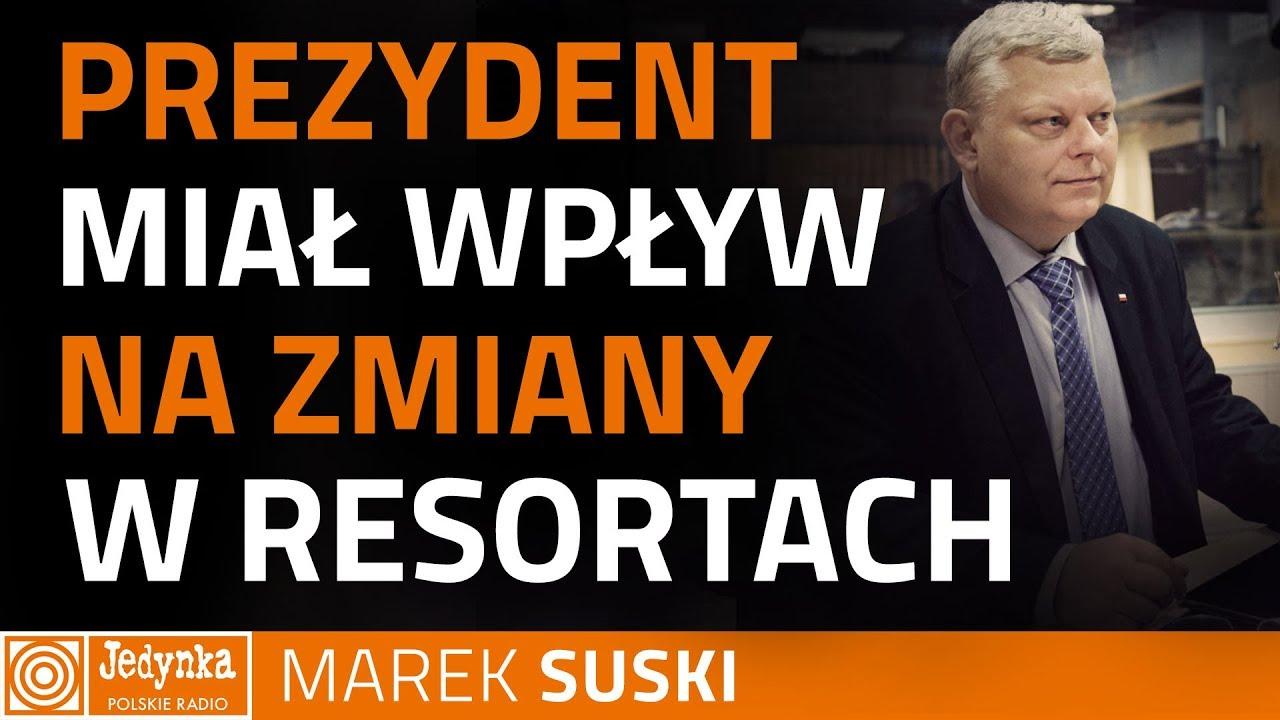 Suski: nie będzie ministrów, których atakowała opozycja
