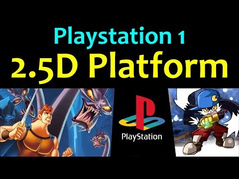 10 Awesome PS1 2.5D Platform Games ... (Gameplay)