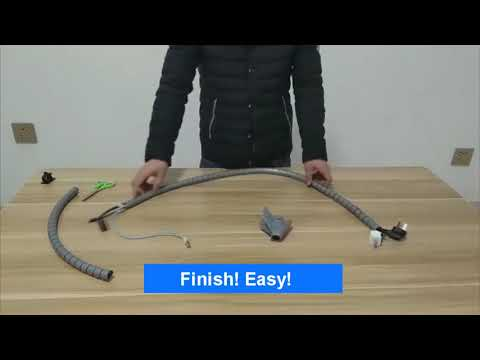 How to use VIWIEU Cable Organizer & Adhesive Cable Clips to tidy your room and office