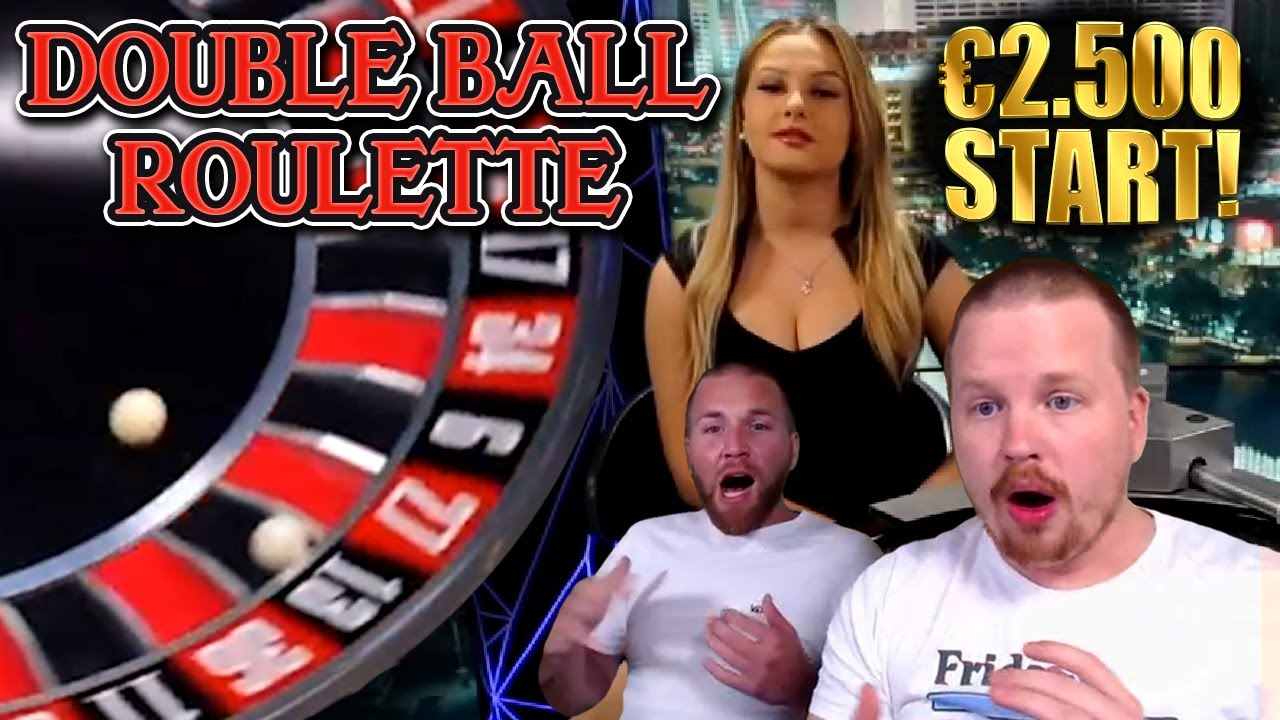 AMAZING Comeback on Double Ball Roulette!