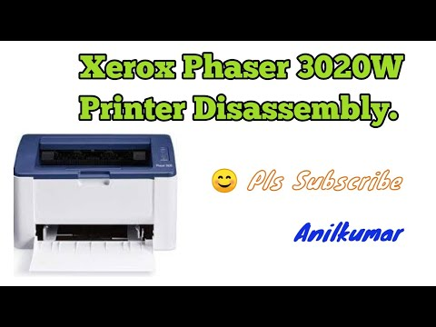 Xerox Phaser 3020 Printer Disassembly Procedure