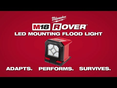 Milwaukee® M18™ Rover™ LED Mounting Flood Light