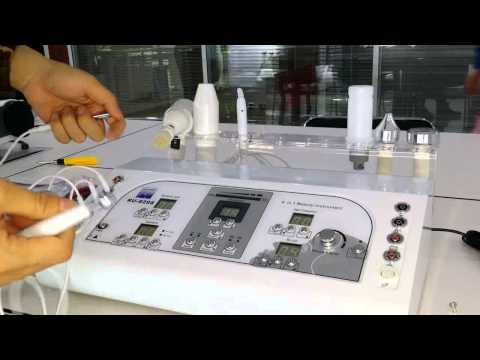 Microdermabrasion - HOW TO USE Au 8208 1 8in1Machine